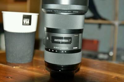 适马 18-35mm f/1.8 DC HSM(A)尼康口95新 光圈排线坏了便宜出