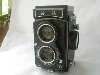 很新海鸥4A双反相机,收藏使用精品