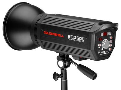 金贝影室灯 新款ECD-500闪光 500W室内摄影灯 液晶数字显示
