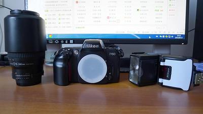 尼康AF75-240mm/f4.5-5.6D+sb50闪光灯+F60机身
