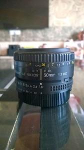 尼康 AF 50mm f/1.8D(尼康标头) 尼克尔镜头 尼康无敌性价比头