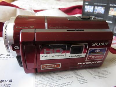 索尼 HDR-PJ260E带投影功能高清摄像机