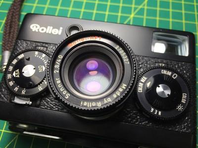 禄来 ROLLEI 35 SE 35SE 黑机 全铜版 收藏级 功能完好 测光灵敏