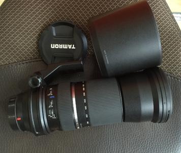 腾龙 SP 150-600mm f/5-6.3 Di VC USD(A011)佳能口的镜头