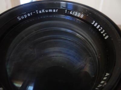 宾得太苦玛:Super  TaKumar 1:4/300