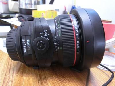 9.99新 佳能 TS-E 17mm f/4L佳能  移轴  正品行货