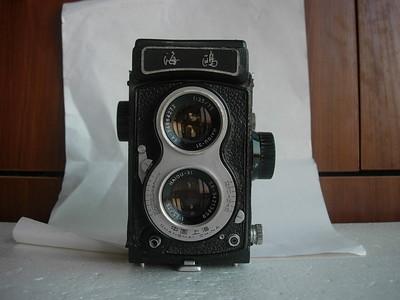 海鸥4B双反相机,老版白脸,收藏使用,送皮套