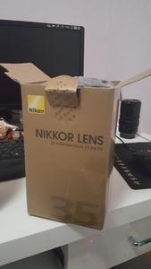 全幅尼康 AF-S 尼克尔 35mm f/1.8G ED+中一光学135MM 2.8