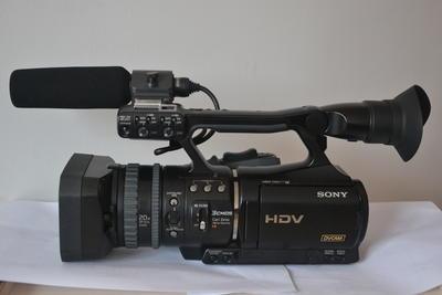 索尼 HVR-V1C 高清摄像机 成色新