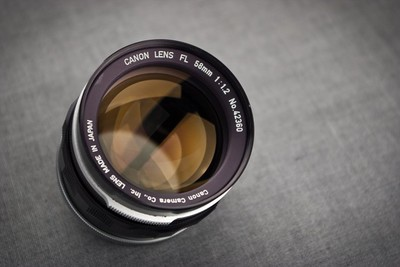 Canon FL 58/1.2,有样片