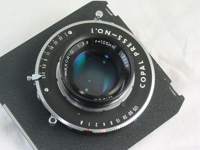 ◆◆◆ 尼康 Nikon Q 105/3.5 大中画幅 ◆◆◆