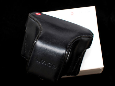 出个正宗徕卡leica德国原产真皮旁轴相机包{带原厂盒}适合M系