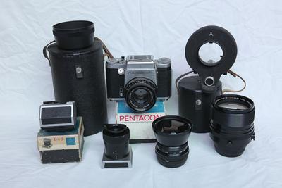 潘太康 PENTACON six TL 相机一大套
