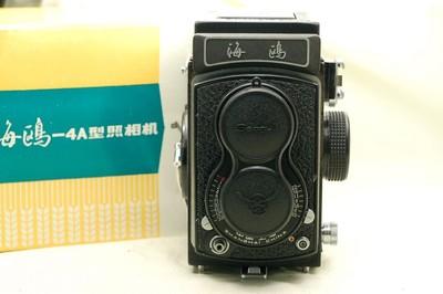 海鸥 4A103 双反胶片相机,未曾使用过,带包装盒,收藏品