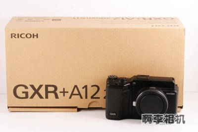 【阿李二手相机】理光GXR机身+mount A12 (全套包装)