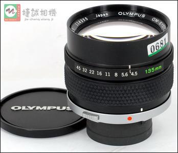 奥林巴斯(Olympus) OM口 135/4.5 Macro微距镜头 编号114355