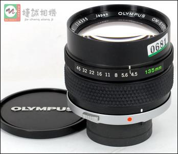 OM口 135/4.5 Macro微距镜头 编号114355