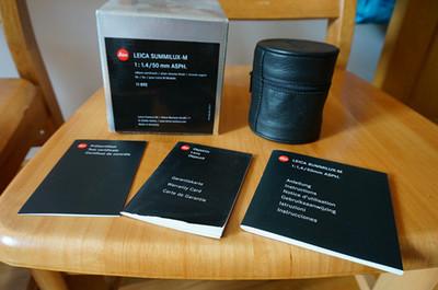 99新 徕卡 Leica/徕卡 银色 E46 ASPH SUMMILU
