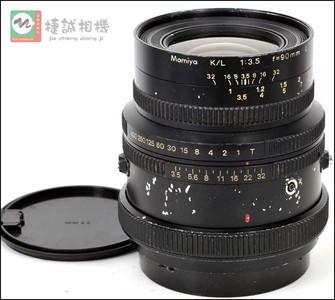 特价出只玛米亚KL90/3.5镜头  编号6478