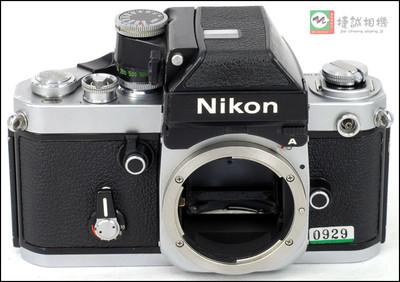 特价F2银色 胶片机身 带dp-11测光顶 编号762170