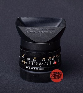 Leica/莱卡 徕卡方型遮光罩 12509 适合R28/2