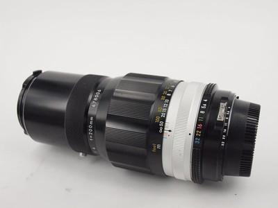 尼康 Nikon MF 200/4 AUTO-Q 原厂改口AI 数码单反可以用