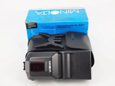 美能达 Minolta 3600HS(D) 闪光灯 包装齐全