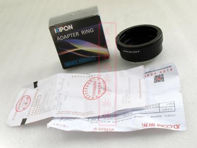 崭新 原装正品 KIPON EOS-EOS M 转接环 佳能EOS镜头转接微单相机