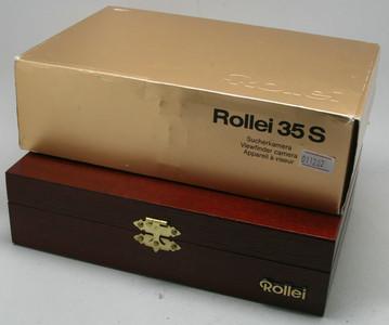 全新【禄来】Rollei 35s 60周年限量版金机 包装齐(011202)