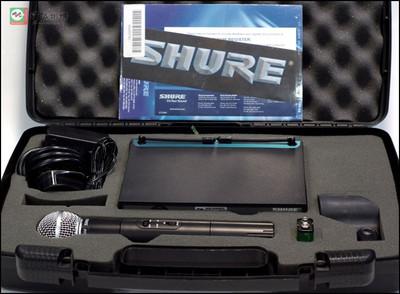 美国舒尔SHURE PGX24E/SM58无线手持话筒 一托
