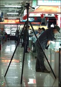 捷信5号重型三脚架带曼富图229云台