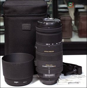 适马尼康口APO120-400mmf4.5-5.6 DG OS HSM专业远摄变焦防抖镜头