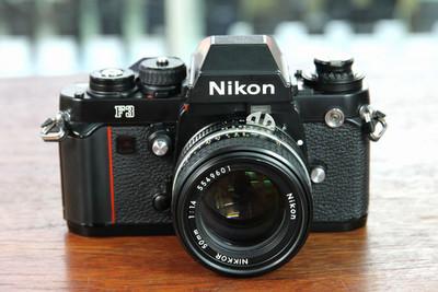 尼康F3机身套50/1.4镜头