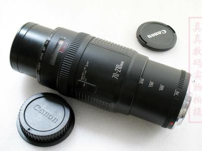 成色很好 原装正品 佳能EF 70-210 F4 全副可用 支持置换1473