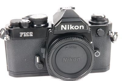 尼康 Nikon FM2 胶片单反相机机身黑色.