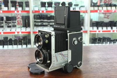 玛米亚C220 套80mm/2.8镜头 120相机 双反相机
