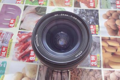 特价出美能达24 2.8N版定焦镜头索尼口