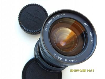 很新的图丽24-70镜头(PKA口),可转接微单
