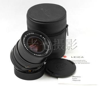Leica/徕卡 Summicron R35/2 ROM E55 38开头  好成色 C01034