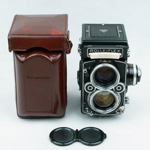 禄来/ Rollei Rolleiflex 2.8F planar 极上品!