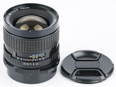 新净 宾得 PENTAX 6x7 67 67II SMC 75mm/f4.5 广角镜头 新款
