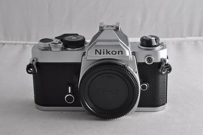尼康 FM 手动胶片相机  成色不错