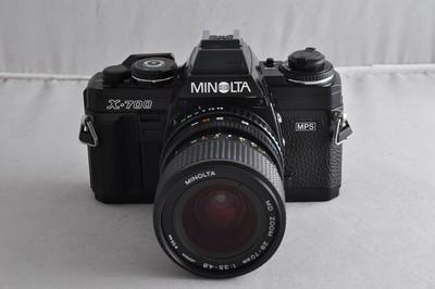 美能达X-700  带28-70镜头 经典胶片相机 成色新