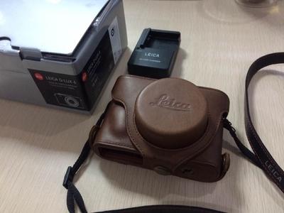成都地区出售自用Leica /徕卡 D-LUX6,全套包装,