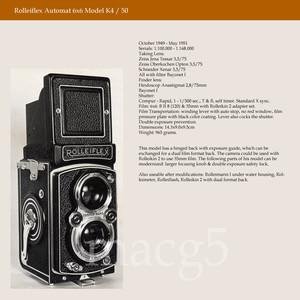 禄来双反 Rolleiflex MX K4 德产120胶片相