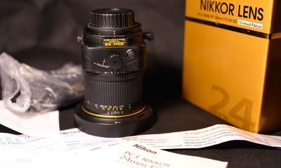 出自用尼康 PC-E 尼克尔 24mm f/3.5D ED
