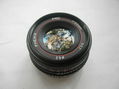 很新凤凰50mmf1.7MC多层镀膜镜头,PK卡口,可转配各