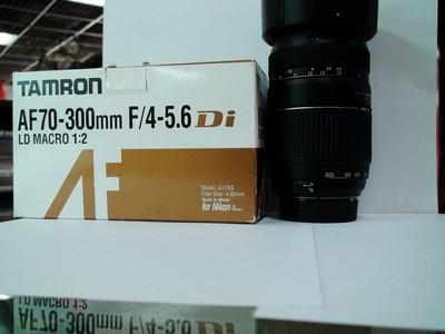 腾龙70-300 F4-5.6 微距 尼康口 可交换器材