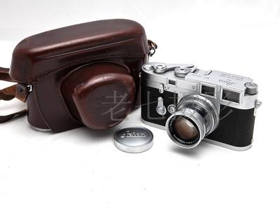 Leica/徕卡 M3 早期双拨  Summicron M 50/2 皮套  C00836