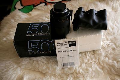 99新 康泰时 真正收藏级带全套包装配件的康泰时500/8反